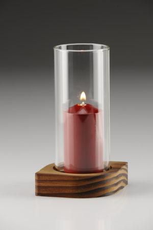 Radiant, punainen, kirkas lasi