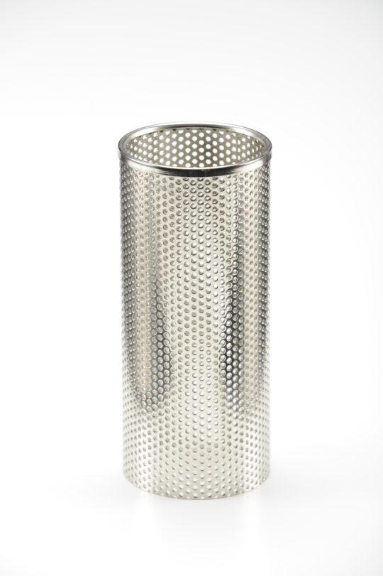 Chrome metal tube